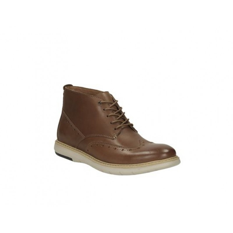 FLEXTON MID TAN CLARKS