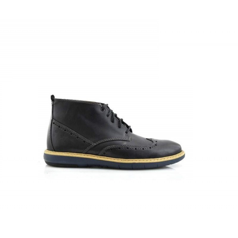 FLEXTON MID BLACK CLARKS