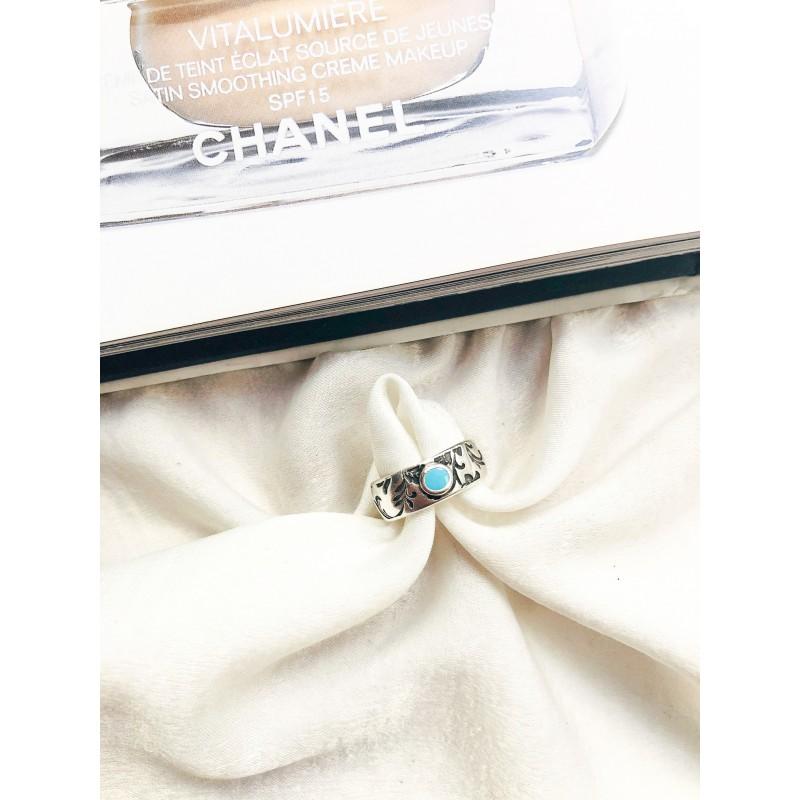 Brisa Silver Turquoise kymata jewels