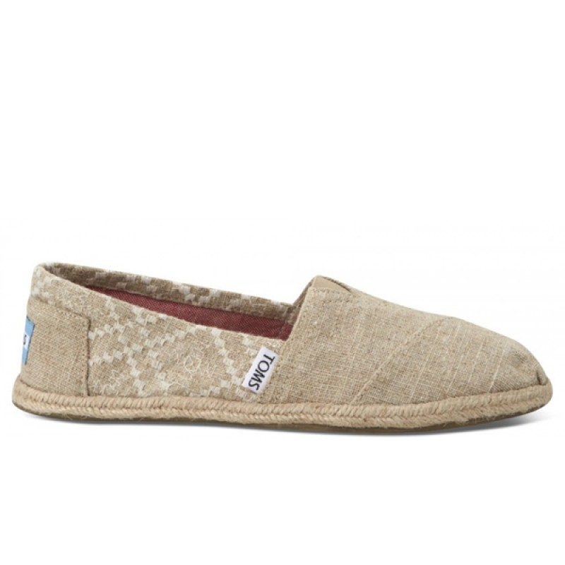 10001378 hemp embroidered Toms