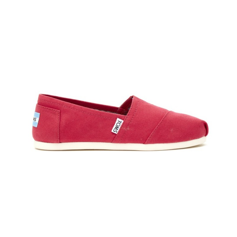 10008058 barberry pink canvas Toms