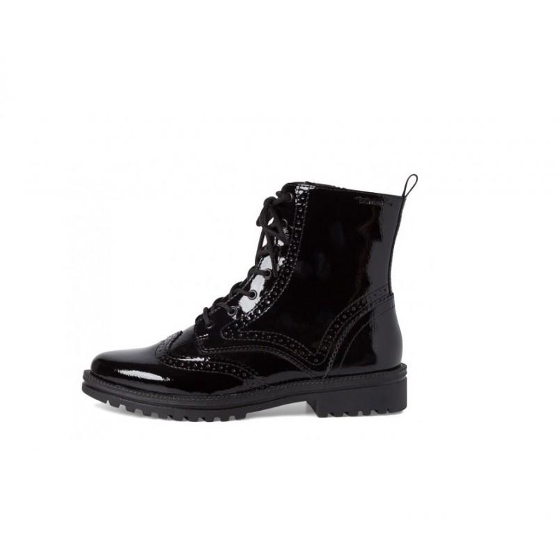 1-25209 black patent tamaris