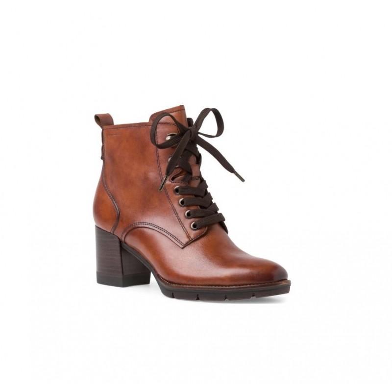 1-25103 cognac leather tamaris