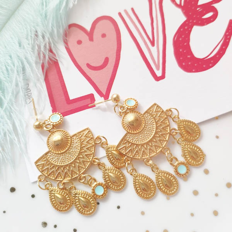 Satiah earrings Macomo