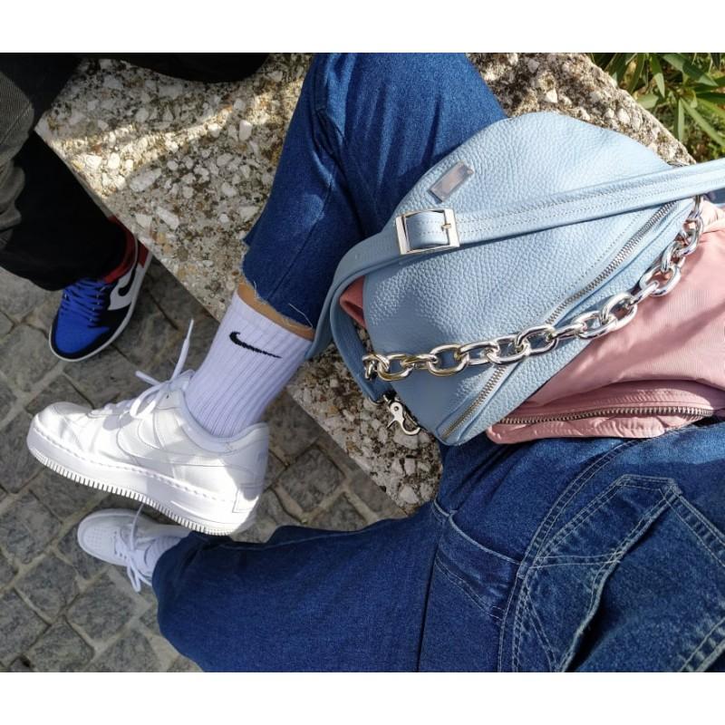 Clic Belt Bag light blue leather (small) CLIC JEWELS