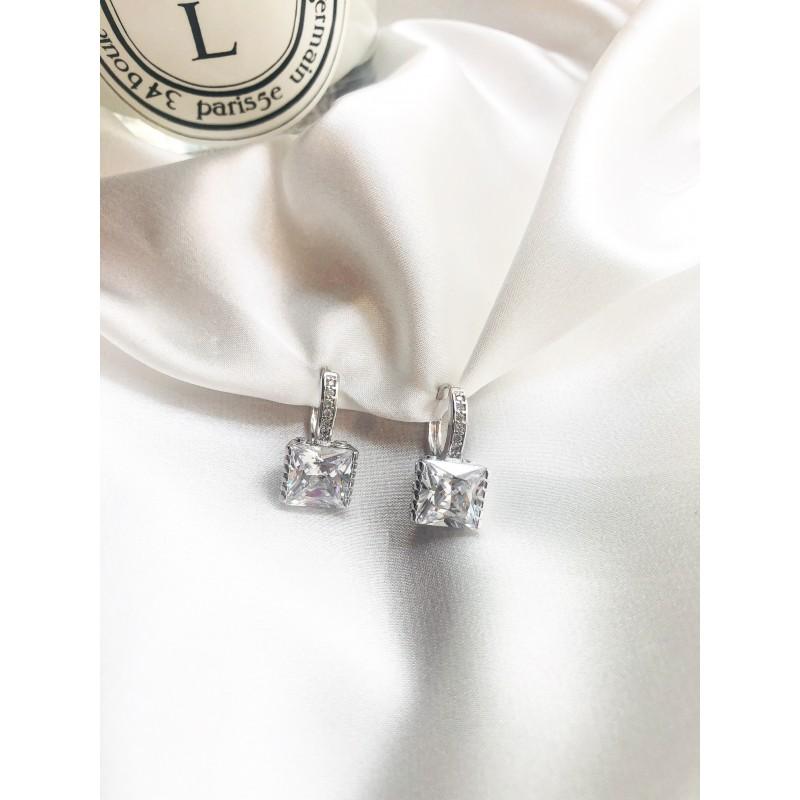 Bridal Silver kymata jewels